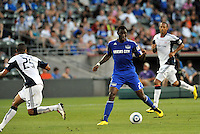 Birahim Diop...Kansas City Wizards defeated New England Revolution 4-1 at Community America Ballpark, Kansas City , Kansas.