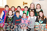 Young Dancers from Duagh taking part in the Feis in Scoil Realta Na Maidine, Listowel on Sunday were,  front l-r Margaret Walsh,  Thomas Dore, Michelle Walsh, Kathy Johnson, and Leona O'Regan.  Back l-r Fionnula Mangan, Kylie Walsh, Majella Lucey,  Katelyn Dennehy,, Gra?inne Sheehy and Katie Ahern. .   Copyright Kerry's Eye 2008