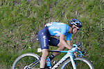 Mikel Landa (ESP) Movistar Team near the end of Stage 5 of the Tour of the Basque Country 2019 running 149.8km from Arrigorriaga to Arrate, Spain. 12th April 2019.<br /> Picture: Colin Flockton | Cyclefile<br /> <br /> <br /> All photos usage must carry mandatory copyright credit (&copy; Cyclefile | Colin Flockton)