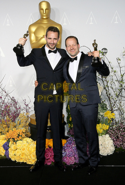 02 March 2014 - Hollywood, California - Anders Walter, Kim Magnusson. 86th Annual Academy Awards held at the Dolby Theatre at Hollywood &amp; Highland Center. <br /> CAP/ADM<br /> &copy;AdMedia/Capital Pictures