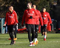 Jetro Willems (Eintracht Frankfurt), Marco Russ (Eintracht Frankfurt) - 14.02.2018: Eintracht Frankfurt Training, Commerzbank Arena
