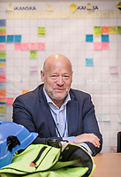 Omsorgsbygg-direktør Per Morten Johansen<br /> <br /> Utslippsfrie byggeplasser<br /> <br />  © Fredrik Naumann/Felix Features
