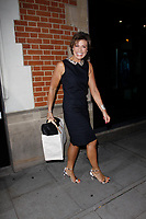 LONDON, ENGLAND - OCTOBER 08 :  Kate Silverton leaves the production of 'Strictly Come Dancing : It Takes Two', at The Hospital Club Studios on October 08, 2018 in London, England.<br /> CAP/AH<br /> &copy;AH/Capital Pictures