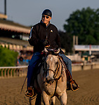ELMONT, NY - JUNE 08: D. Wayne Lukas watches his horses work out as horses prepare on Friday for the 150th running of the Belmont Stakes at Belmont Park on June 8, 2018 in Elmont, New York. (Photo by Scott Serio/Eclipse Sportswire/Getty Images)
