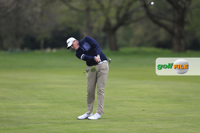 Charlie Strickland (Ham Manor Golf Club) during the final round of the Peter McEvoy Trophy, Copt Heath Golf Club, Knowle, Solihull, England. 13/04/2017.<br /> Picture: Golffile | Fran Caffrey<br /> <br /> <br /> All photo usage must carry mandatory copyright credit (&copy; Golffile | Fran Caffrey)