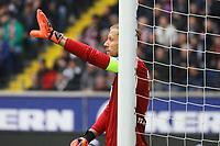 Torwart Oliver Baumann (TSG 1899 Hoffenheim) - 02.03.2019: Eintracht Frankfurt vs. TSG 1899 Hoffenheim, Commerzbank Arena, 24. Spieltag Bundesliga, DISCLAIMER: DFL regulations prohibit any use of photographs as image sequences and/or quasi-video.
