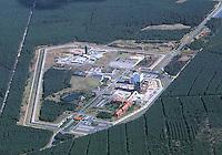 Deutschland, Niedersachsen, Gorleben, Atomares Endlager, Probebohrung, Salzstock
