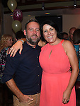 Bernice Kavanagh celebrating her 40th birthday in Redz with partner Jeff Leech. Photo:Colin Bell/pressphotos.ie