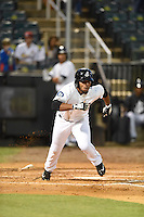 ***Temporary Unedited Reference File***Jackson Generals designated hitter Leon Landry (6) during a game against the Jacksonville Suns on May 4, 2016 at The Ballpark at Jackson in Jackson, Tennessee.  Jackson defeated Jacksonville 11-6.  (Mike Janes/Four Seam Images)