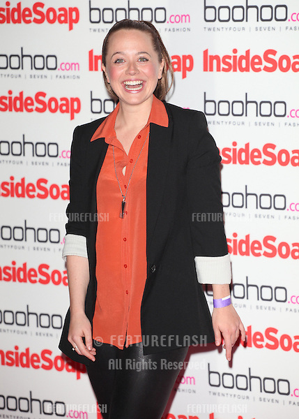 Charlie Clemmow arriving for the 2012 Inside Soap Awards, at No.1 Marylebone, London. 24/09/2012 Picture by: Alexandra Glen / Featureflash