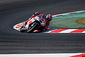 June 10th 2017,  Barcelona Circuit, Montmelo, Catalunya, Spain; MotoGP Grand Prix of Catalunya, qualifying day; Danilo Petrucci (Pramac) on his way to 3rd on pole