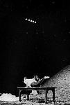 Elena Adoeva, Regina Advento, Ruth Amarante, Rainer Behr, Andrey Berezin, Stephan Brinkmann, Rapha&euml;lle Delaunay, Mechthild Grossman, Christel Guillebeaud, Kyomi Ichida, Na Young Kim, <br /> Daphnis Kokkinos, Marigia Maggipinto, Bernd Marszan, Eddie Martinez, Dominique Mercy, Jan Minarik, Cristiana Morganti, Nazareth Panadero, <br /> Helena Pikon, Jorge Puerta Armenta, Anne Rebeschini, Michael Strecker, Fernando Suels, Aida Vainieri, Michael G Whaltes dans Le laveur de vitres<br /> Th&eacute;&acirc;tre de la Ville, Paris - 1998<br /> Prise de vue argentique noir et blanc