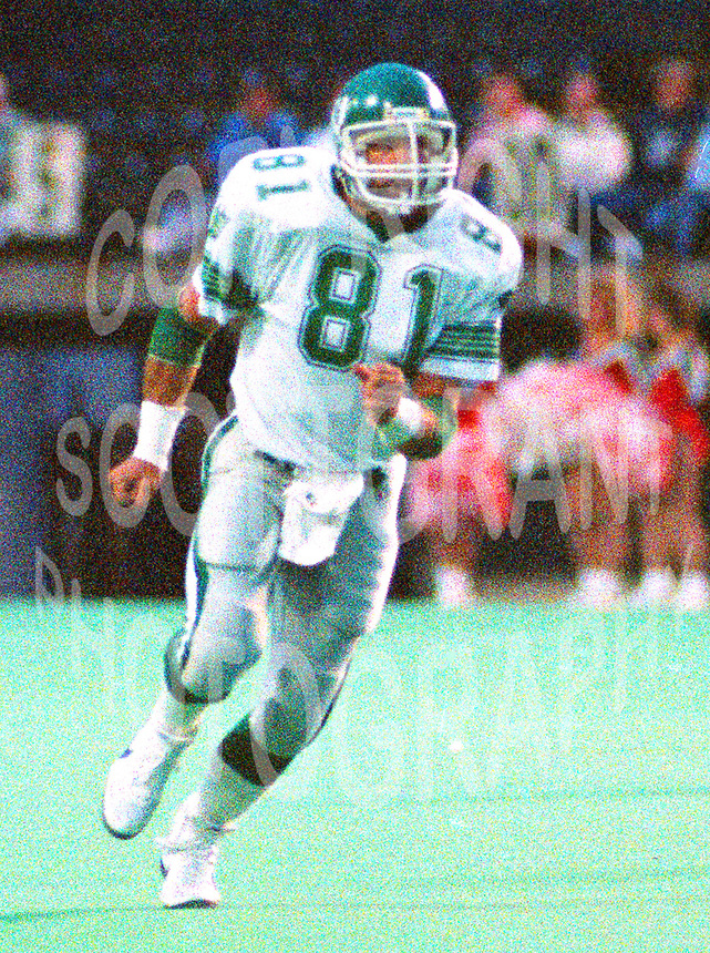 Ray Elgaard Saskatchewan Roughriders 1988. Photo John Bradley