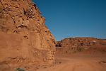 Scenery in Wadi Rum