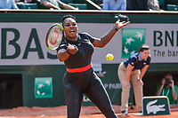 Serena Williams of USA during Day 3 for the French Open 2018 on May 29, 2018 in Paris, France. (Photo by Baptiste Fernandez/Icon Sport)