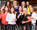 Celebrating A Significant Birthday in Leen's Hotel last Saturday night are Abbeyfeale Ladies (centre front) Siobh&aacute;n Collins, Siobh&aacute;n Aherne &amp; Jane Collins with friends( left) Fidelma Murphy &amp; ( right) Aileen O' Connor.<br /> Back: Ruth Colbert, Ann-Maria Leonard, Marguerite O' Connor &amp; Noreen O' Connor.