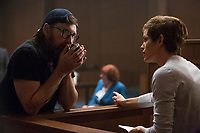 PEPPERMINT (2018)<br /> Director Pierre Morel and Jennifer Garner <br /> *Filmstill - Editorial Use Only*<br /> CAP/FB<br /> Image supplied by Capital Pictures