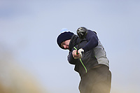 Shane McDermott (Co Cavan) during the first round of matchplay at the 2018 West of Ireland, in Co Sligo Golf Club, Rosses Point, Sligo, Co Sligo, Ireland. 01/04/2018.<br /> Picture: Golffile | Fran Caffrey<br /> <br /> <br /> All photo usage must carry mandatory copyright credit (&copy; Golffile | Fran Caffrey)