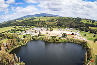 SOARING TO NEW LEVELS:  Taking to the Airwaves to get a birds-eye view of this gorgeous venue. Takapoto Estate Show Jumping. Saturday 3 March. Takapoto Estate. Maungatautari. New Zealand. Copyright Photo: Libby Law Photography
