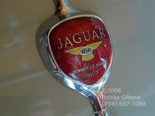 Jaguar XK140 emblem