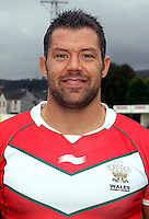 PICTURE BY IAN LOVELL/WRL...Rugby League - Wales Rugby League Headshots 2011 - 21/10/11...Wales Jordan James.