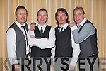 MIDNITE CAFE: Member's of Midnite Cafe who played a gig at the Carlton hotel, Tralee on Saturday l-r: Damien Greer, Noel McCord, Mike Leahy and Sean McCord.