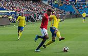 June 1th 2017, Ullevaal Stadion, Oslo, Norway; International Football Friendly 2018 football, Norway versus Sweden; Bjorn Maars Johnsen of Norway