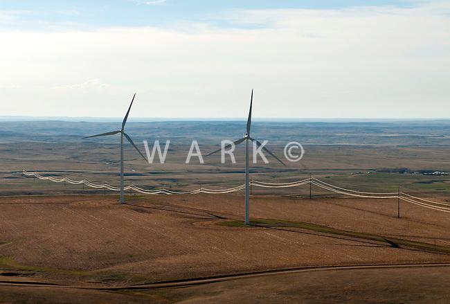 wind farms near Limon, Colorado