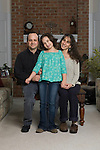 Title: Adam Frank Family Portraits.Photographer: Aaron Clamage.Caption: Adam Frank Family Portraits