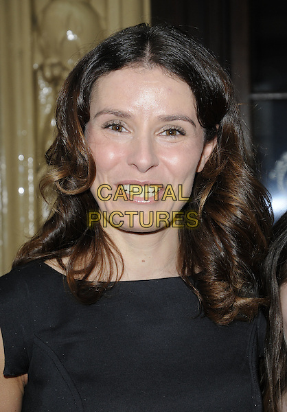 TANA RAMSAY .Tesco Magazine Mum Of The Year .Awards 2010, held at The Waldorf Hilton Hotel, Aldwych, London, England, UK,.February 28th 2010..Arrivals portrait headshot black smiling .CAP/CAN.©Can Nguyen/Capital Pictures