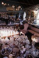 Nova Scotia, Canada, 1967. Anitque shop.