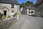 Milldale village, Dovedale, Peak District national park, Derbyshire, England
