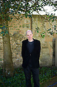 Alain De Botton, essayist  and writer  at The Oxford Literary Festival at Christchurch College Oxford  . Credit Geraint Lewis
