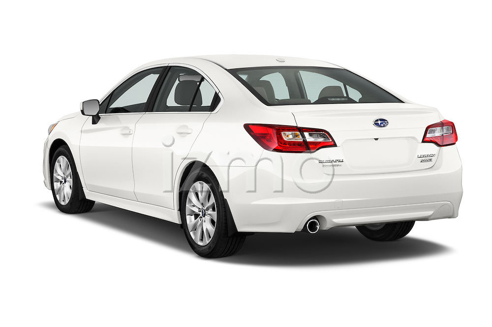 Car pictures of rear three quarter view of a 2015 Subaru Legacy 2.5I Premium 4 Door Sedan 2WD Angular Rear