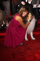 """Allison Janney<br /> at the """"Mr. Peabody and Sherman"""" Los Angeles Premiere, Village Theatre, Westwood, CA 03-05-14<br /> Dave Edwards/DailyCeleb.com 818-249-4998"""