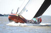 ZEILEN: LEMMER: 27-05-2017, Lemmer Ahoy,  Skûtsje Gerben van Manen Heerenveen,  ©foto Martin de Jong