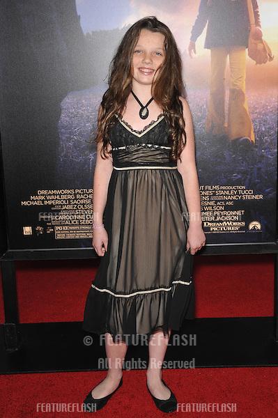 "Stefania Owen at the Los Angeles premier of her new movie ""The Lovely Bones"" at Grauman's Chinese Theatre, Hollywood..December 7, 2009  Los Angeles, CA.Picture: Paul Smith / Featureflash"