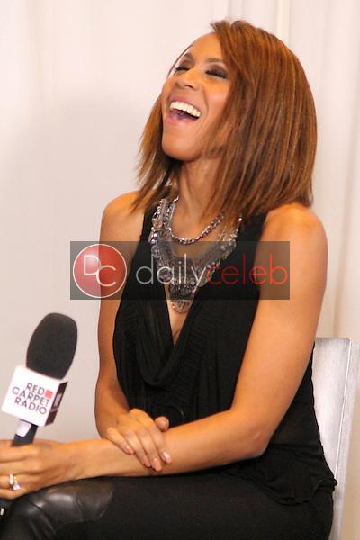 Deborah Cox<br /> Red Carpet Radio presents Grammys Radio Row Day 1 at the Staples Center in Los Angeles, CA<br /> David Edwards/DailyCeleb.com 818-249-4998