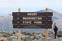Mount Washington and the surrounding