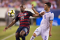 Philadelphia, PA - July 19, 2017: The USMNT defeated El Salvador 2-0 during the 2017 CONCACAF Gold Cup semifinals at Lincoln Financial Field.