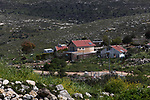 Picture taken on April 2, 2019, shows a general view of the Israeli Jewsih settlement of Shifot Rahil, near the city of Nablus in the occupied West Bank. After the United States recognized the annexed Israel Occupied Golan Heights as Israeli territory, Israel's Prime Minister Benjamin Netanyahu will possibly declare illegal Jewish settlements in the occupied West Bank as Israeli territory if re-elected on the April 9 elections, according to media reports. Photo by Shadi Jarar'ah