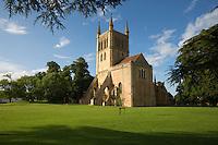 United Kingdom, England, Worcestershire, Pershore: Pershore Abbey | Grossbritannien, England, Worcestershire, Pershore: Pershore Abbey