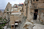 The town of Goreme in the Cappadoica region of Turkey