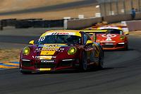 Porsche GT3 Cup Challenge USA<br /> Sonoma Raceway<br /> Sonoma Raceway, Sonoma, CA USA<br /> Sunday 17 September 2017<br /> 10, Frank Raso, GT3G, USA, 2016 Porsche 991<br /> World Copyright: Jake Galstad<br /> LAT Images