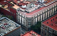 high angle view of the Historic Center of Mexico City. (Photo: Luis Gutierrez / NortePhoto.com)<br /> vista de angulo alto del centro Historico de la Ciudad de Mexico. (Foto: Luis Gutierrez / NortePhoto.com)