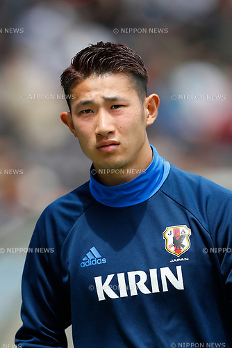 Go Hatano (JPN), <br /> APRIL 18, 2017 - Football / Soccer : <br /> U-20 Japan National team training match <br /> between U-20 - JEF United Chiba <br /> in Chiba, Japan. <br /> (Photo by Yohei Osada/AFLO SPORT)