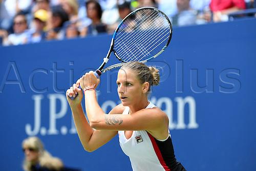 04.09.2016. Flushing Meadows, New York, USA. US Open 2016 Grand Slam tennis tournament.  Karolina Pliskova (CZE)