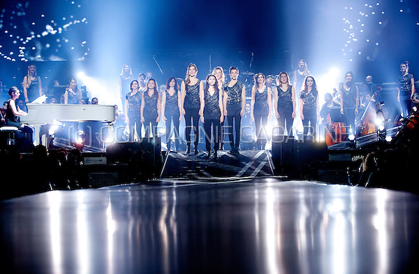 Belgian women's choir Scala & Kolacny Brothers performing at the Night Of The Proms, in Antwerp (Belgium, 14/11/2015)