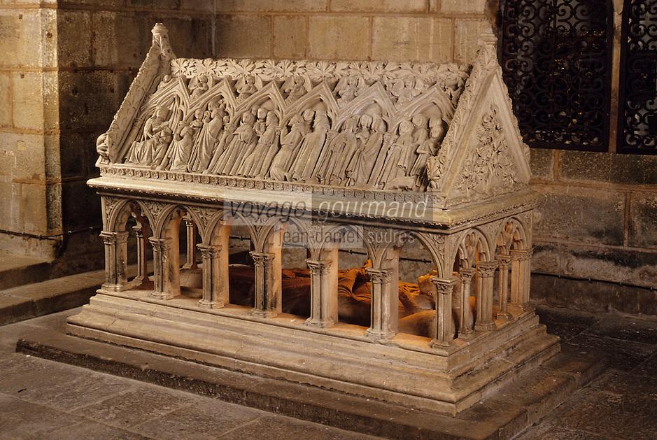 Europe/France/Limousin/19/Corrèze/Aubazine: Tombeau de Saint Etienne XIIIème