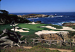 15th green at Cypress Point CC